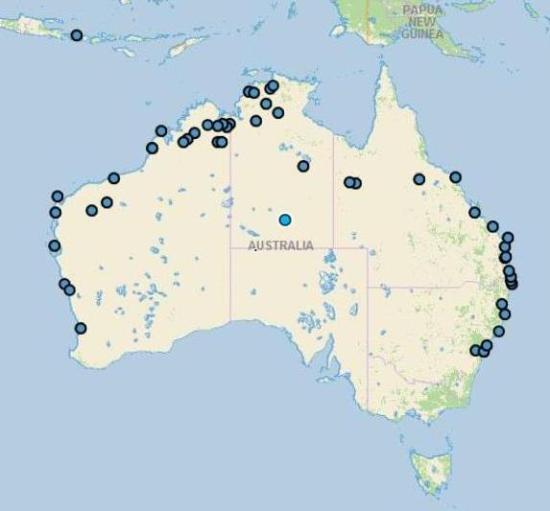 points bivouac australie